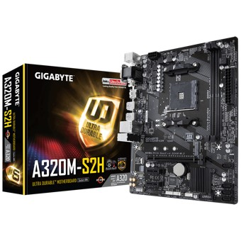 PLACA BASE GIGABYTE AMD A320M-S2H   SOCKET AM4   USB