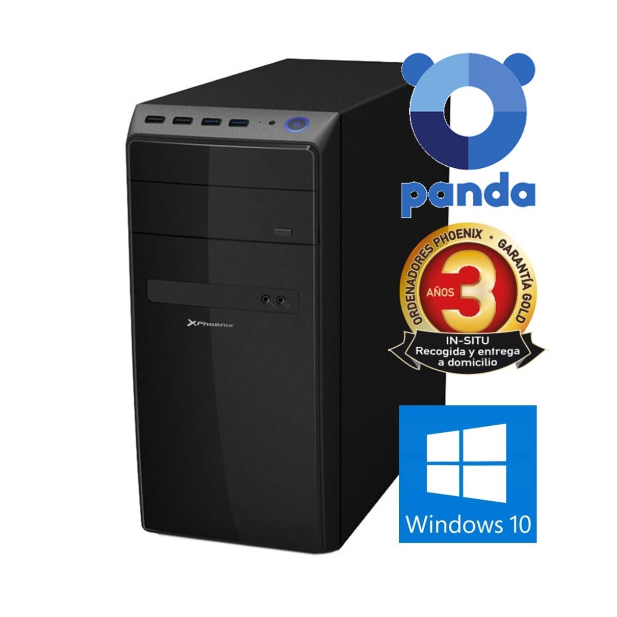 ORDENADOR PC PHOENIX HOME INTEL CORE I7 10º GENERACION 16GB DDR4 500 GB SSD RW MICRO ATX WINDOWS 10