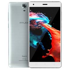 """Telefono movil smartphone innjoo spark 5"""" plata/ 8gb rom/ 1gb ram/ 5 mpx-2 mpx/ quad core/ 4g"""