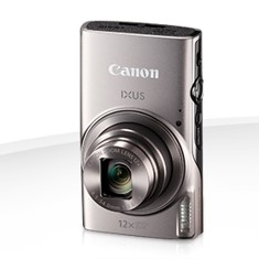 "CAMARA DIGITAL CANON IXUS 285 HS PLATA 20.2MP ZOOM 24X/ ZO 12X/ 3"" LITIO/ VIDEOS HD/ MODO ECO"