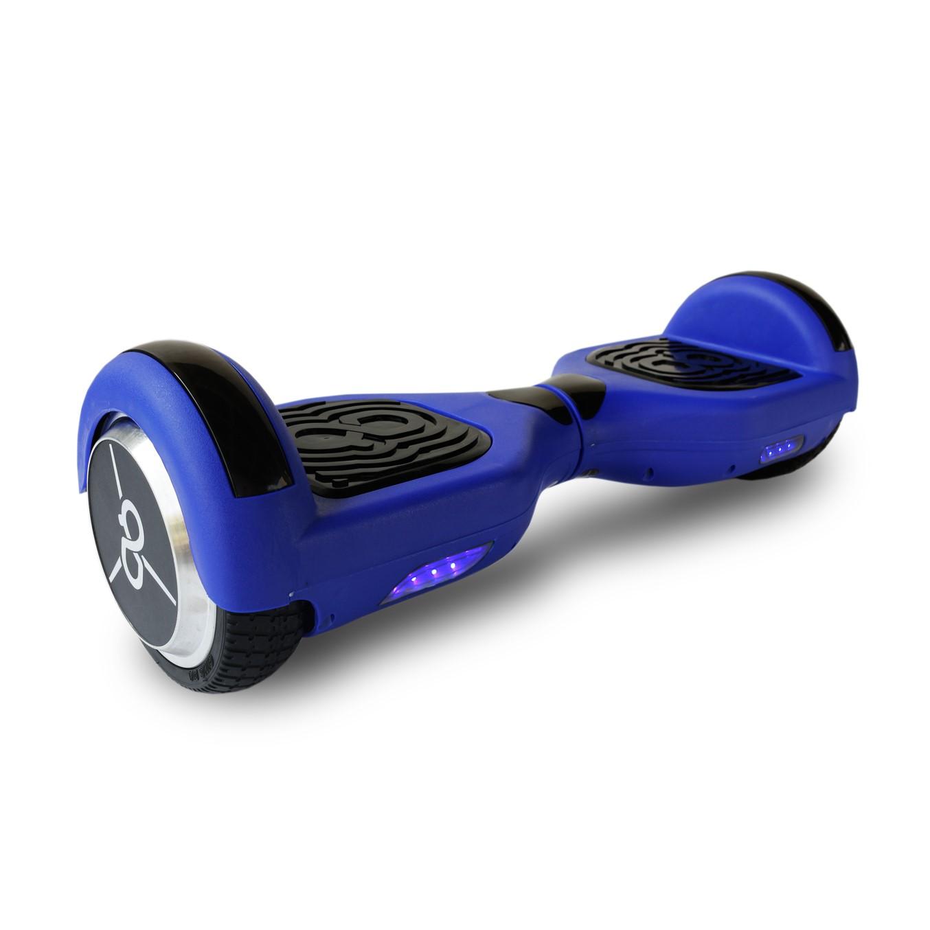 "Hoverboard skateflash k6+b azul rueda 6.5"" bateria"