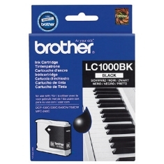 Brother LC1000BK - negro - original - cartucho de tinta