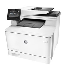 MULTIFUNCION HP LASER COLOR LASERJET PRO M377DW A4- 24PPM- 256MB- USB- RED- WIFI- DUPLEX IMPRESION