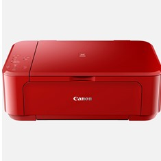 MULTIFUNCION CANON MG3650S INYECCION COLOR A4/ 9.9PPM/ 5.7PPM COLOR/ USB/ WIFI/ DUPLEX IMPRESION/ RED
