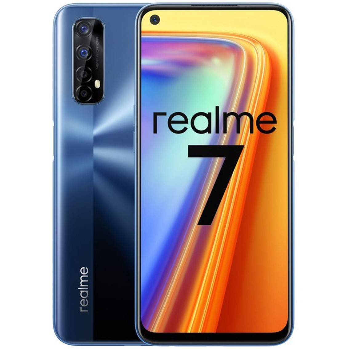 "TELEFONO MOVIL SMARTPHONE REALME 7 MIST BLUE/ 6.5""/ 64GB ROM/ 6GB RAM/ 48+2+2+2MP/ 16MP"