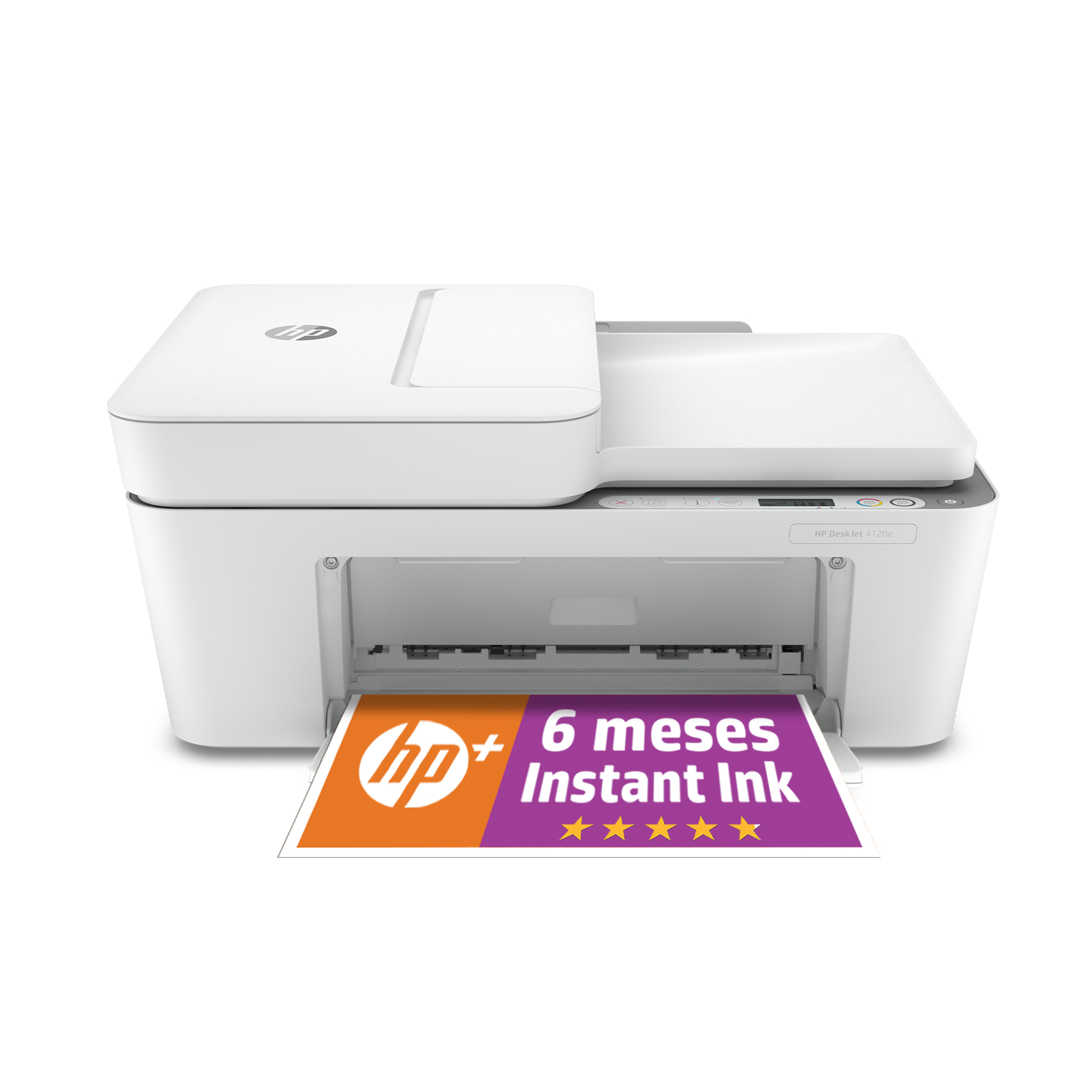 MULTIFUNCION HP INYECCION COLOR DESKJET 4120E FAX/ A4/ 8.5PPM/ USB/ WIFI
