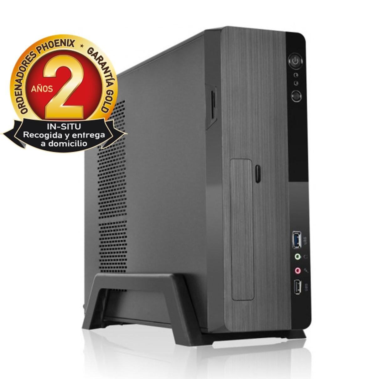 ORDENADOR PHOENIX ZITY AMD RYZEN 3 3200G 8GB DDR4 480 GB SSD MICRO ATX SLIM  PC SOBREMESA