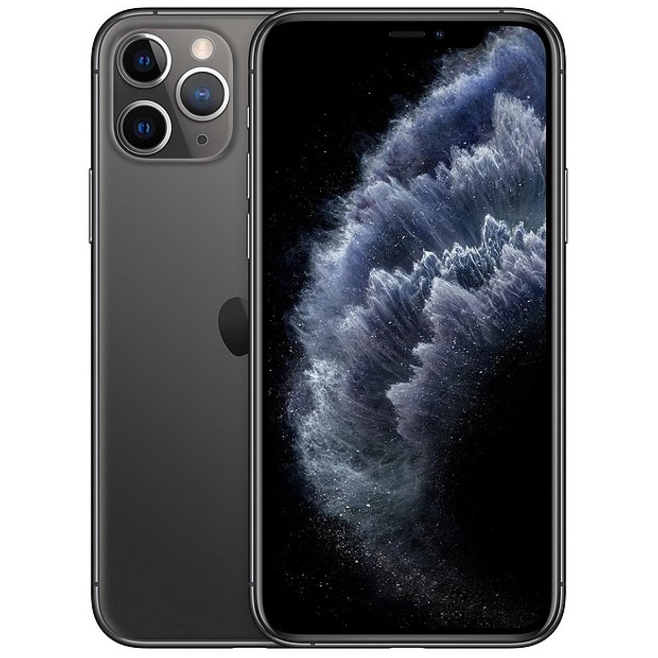 Telefono movil smartphone apple iphone 11 pro 64gb space grey - 5.8pulgadas - dual sim - triple camara trasera