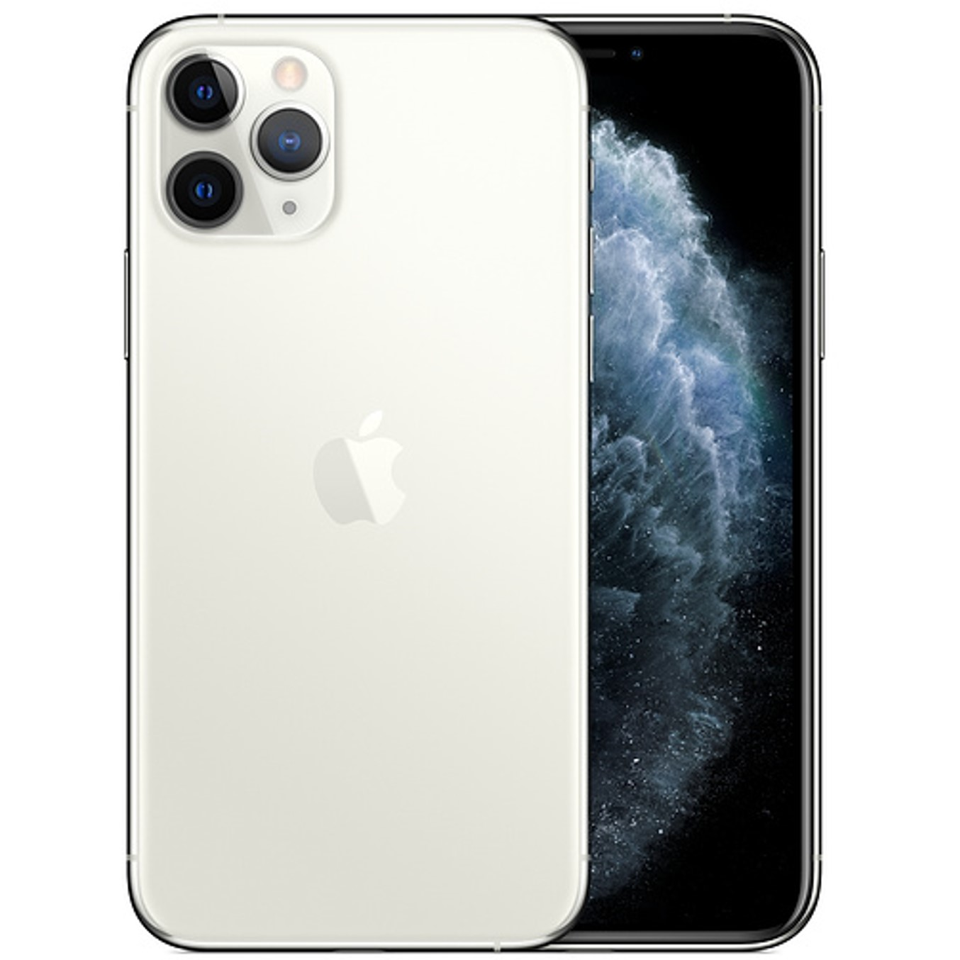 Telefono movil smartphone apple iphone 11 pro 64gb silver - 5.8pulgadas - dual sim - triple camara trasera