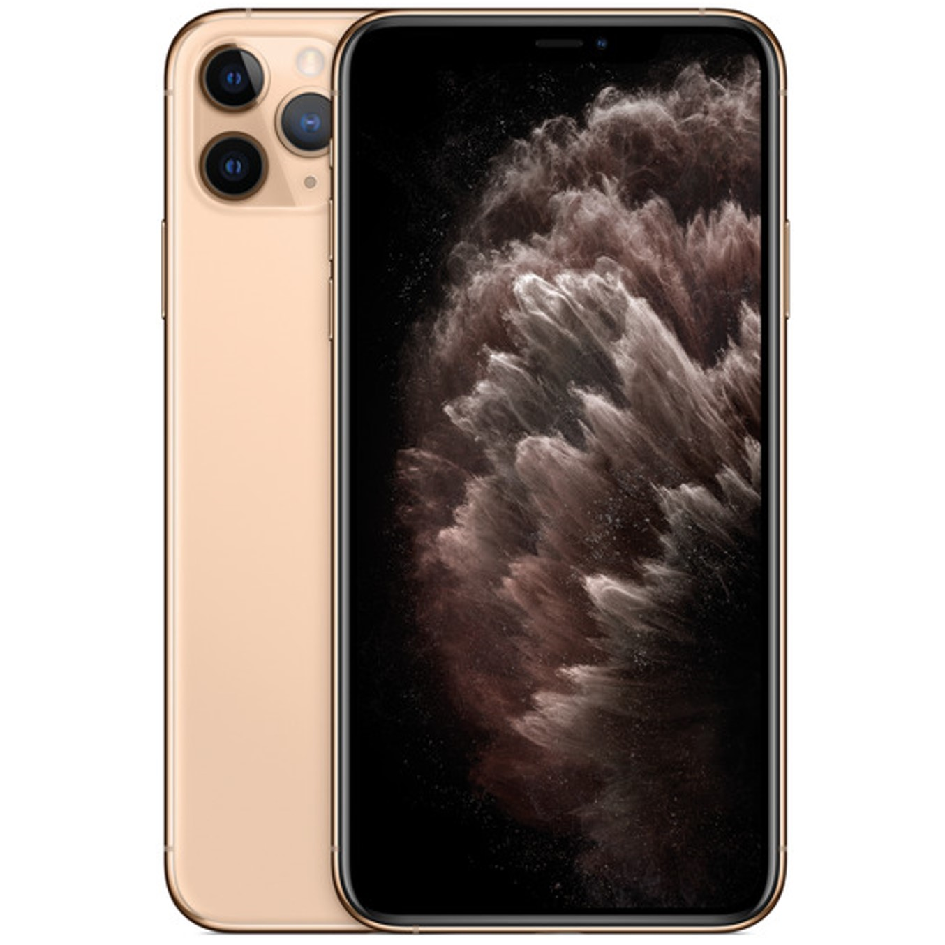 Telefono movil smartphone apple iphone 11 pro 64gb gold - 5.8pulgadas - dual sim - triple camara trasera