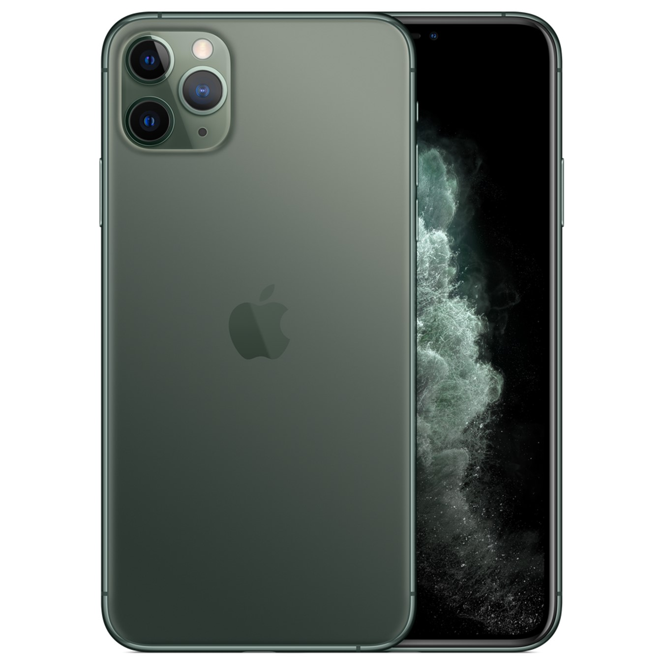 Telefono movil smartphone apple iphone 11 pro max 64gb midnight green - 6.5pulgadas - dual sim - triple camara trasera