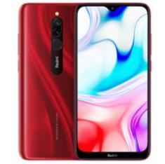 Telefono movil smartphone xiaomi redmi 8 rojo -  6.22pulgadas -  32gb rom -  3gb ram -  12+2 mpx -  8 mpx -  5000 mah -  huella -  4g