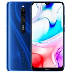 Telefono movil smartphone xiaomi redmi 8 azul - 6.22pulgadas -  64gb rom -  4gb ram -  12+2 mpx -  8 mpx -  5000 mah -  huella -  4g