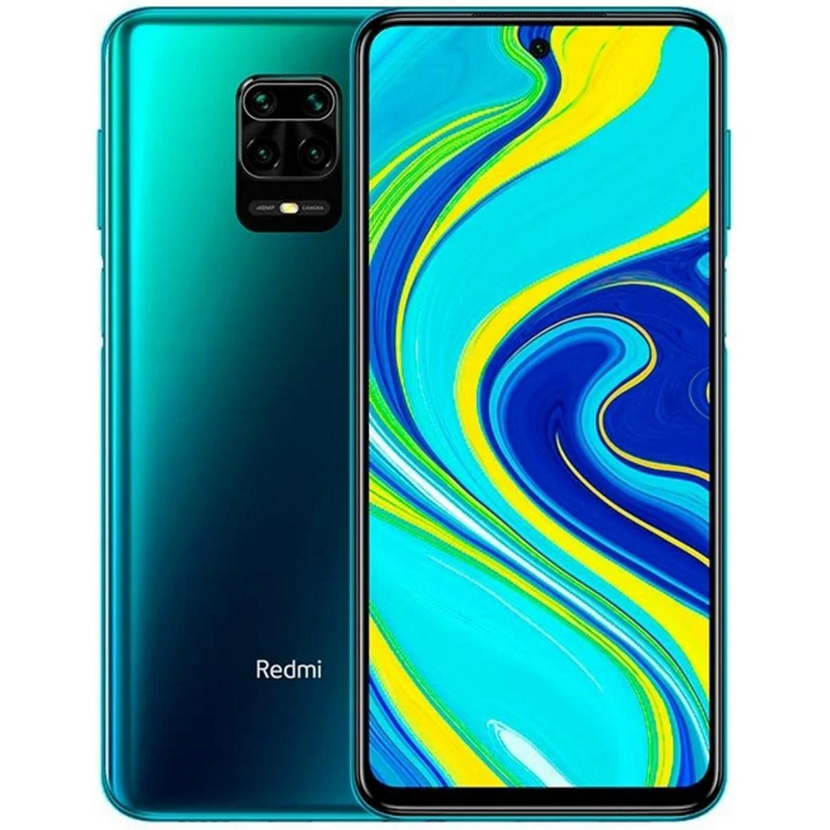 "TELEFONO MOVIL SMARTPHONE XIAOMI REDMI NOTE 9S AURORA BLUE / 6.67""/ 64GB ROM/ 4GB RAM/ 48+8+5+2MPX/ 16MPX/ 5020 MAH/ 5G/ HUELLA/ OCTA CORE"