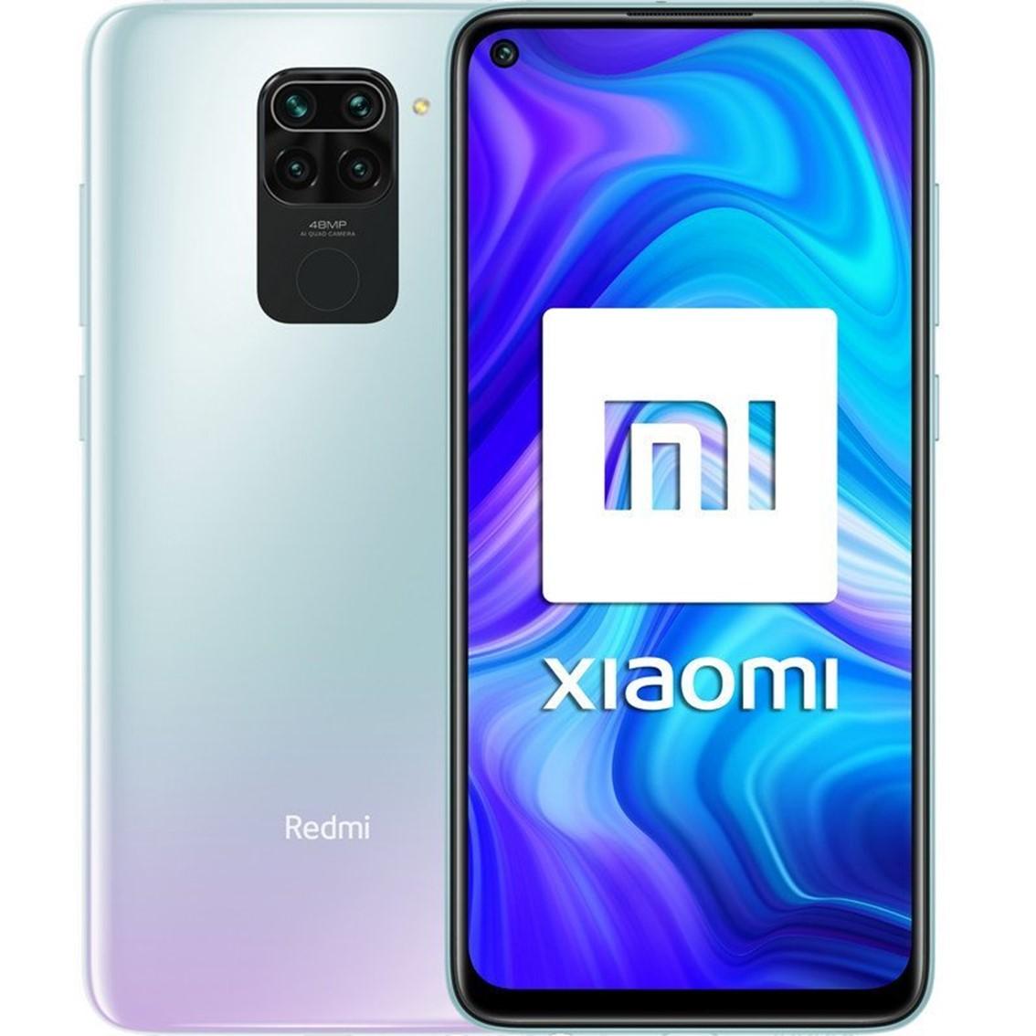 """TELEFONO MOVIL SMARTPHONE XIAOMI REDMI NOTE 9 POLAR WHITE/ 6.53""""/ 128GB ROM/ 4GB RAM/ 48+8+2+2MPX/ 13MPX/ 5020MAH/ 4G/ HUELLA/ OCTA CORE"""