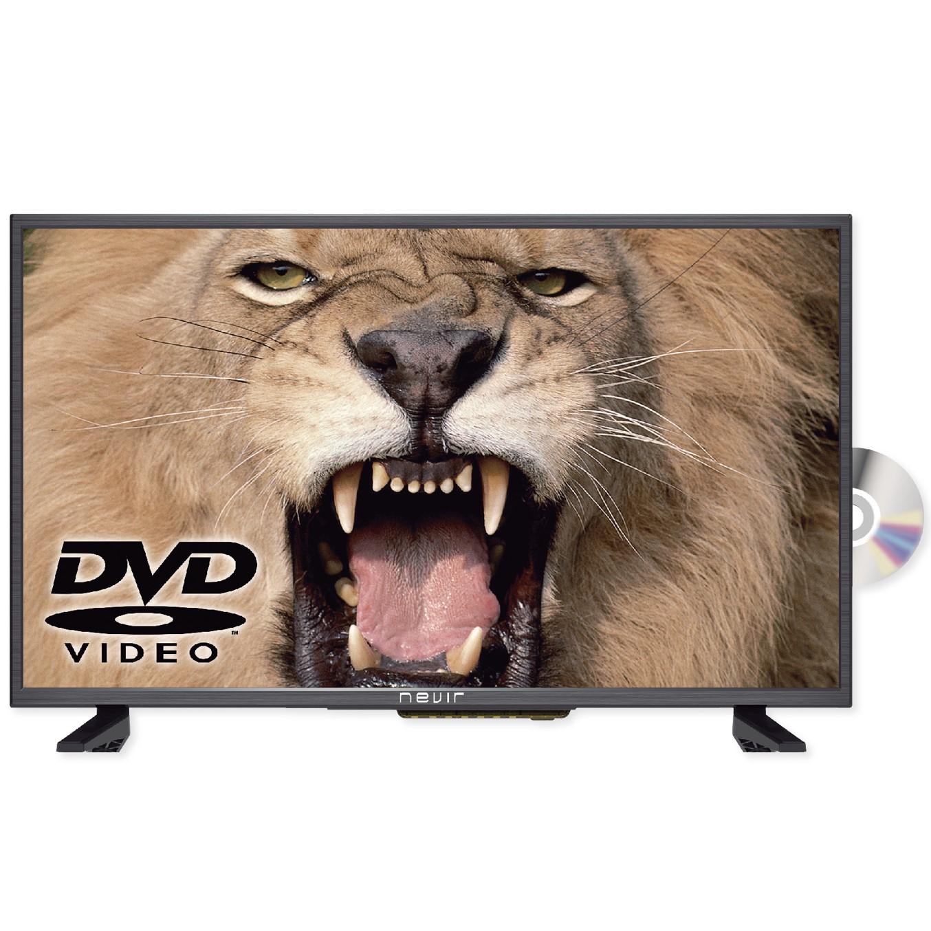 """TV NEVIR 32"""" LED HD READY/ NVR-7421-32HDDVD-N/ NEGRO/ TDT HD/ DVD/ HDMI/ USB-R"""