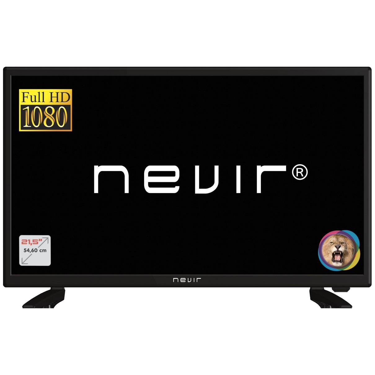 """TV NEVIR 21.5"""" LED FULL HD NVR-7702-22FHD2-N TDT HD HDMI USB-R"""