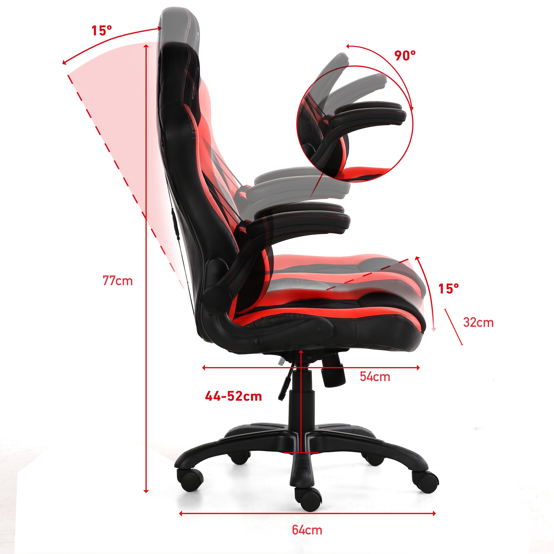 Silla gaming phoenix phfactorchair solicitud de pedido for Precio de silla gamer