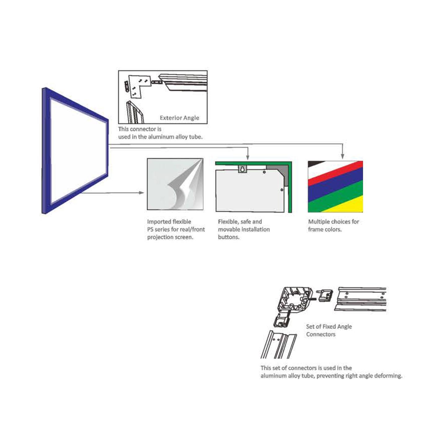 PANTALLA MANUAL VIDEOPROYECTOR PHOENIX . Solicitud de pedido precios ...