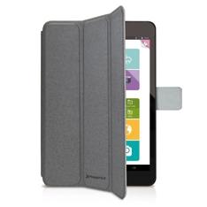 Funda cover case phoenix para tablet - ipad mini 2 - 4 aprox de 7.5 a  material tipo skay gris
