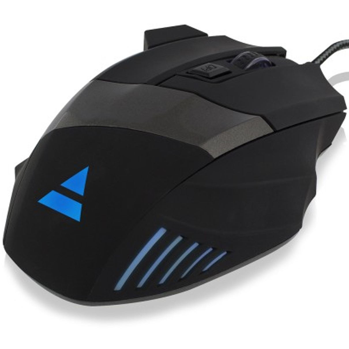 MOUSE RATON GAMING EWENT PL3300 OPTICO / USB / 3200DPI ILUMINADO