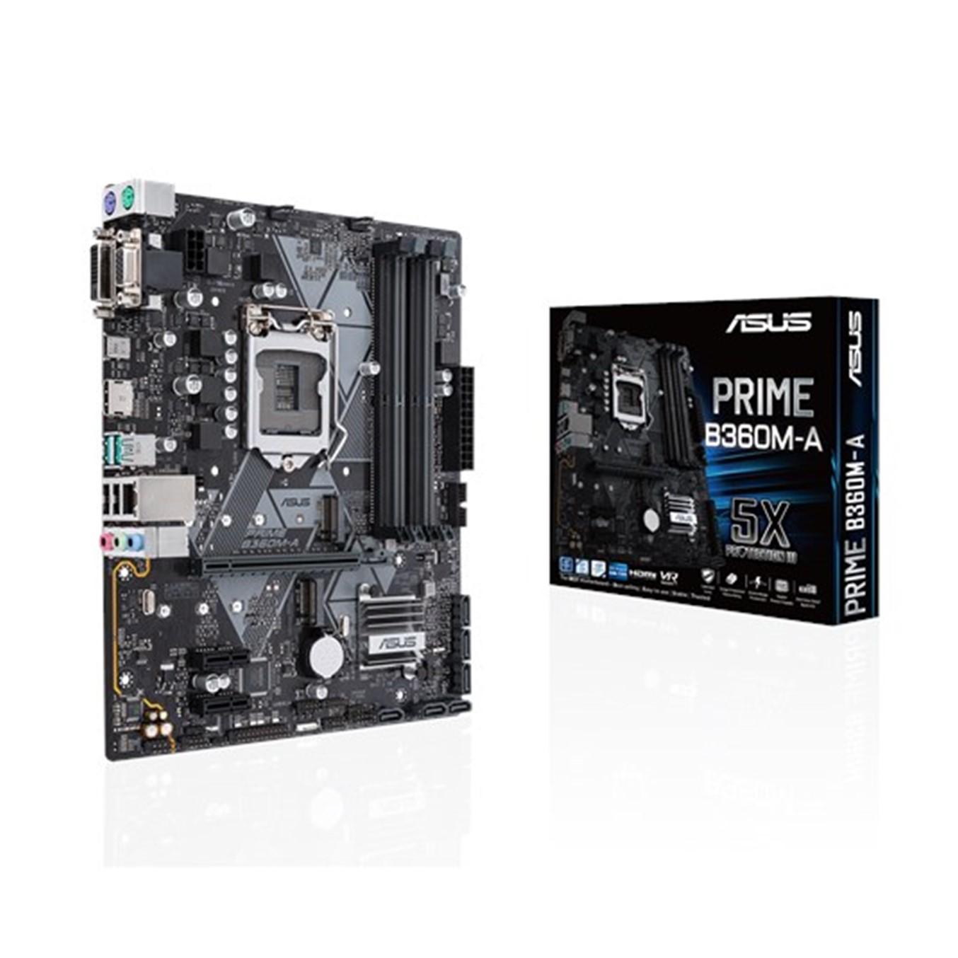 PLACA BASE ASUS INTEL PRIME-B360M-A SOCKET 1151 DDR4