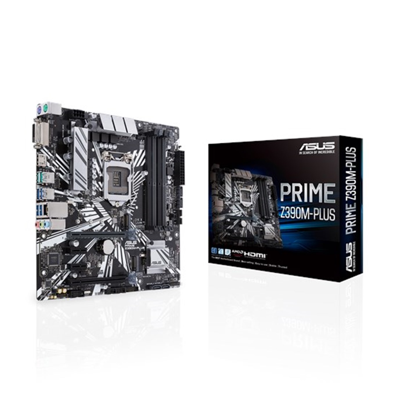 PLACA BASE ASUS PRIME Z390M-PLUS SOCKET 1151 DDR4X4