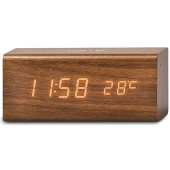 Reloj despertador swiss go rd-sg-718 horario/ calendario/ termometro/ usb