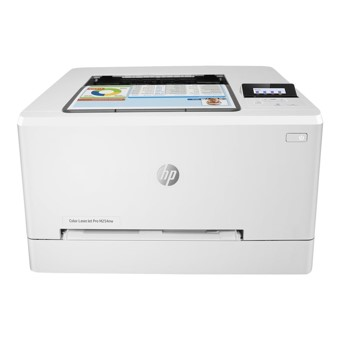 IMPRESORA HP LASER COLOR LASERJET M254NW- A4- 21PPM- RED- WIFI- USB