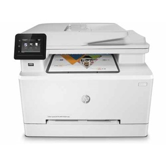 MULTIFUNCION HP LASER COLOR LASERJET PRO M281FDW FAX- A4- 21PPM- USB- RED- WIFI- DUPLEX IMPRESION- ADF