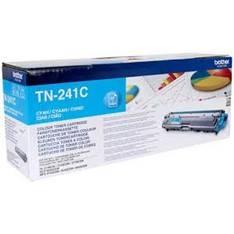 Brother TN-241C - cián - original - cartucho de tóner
