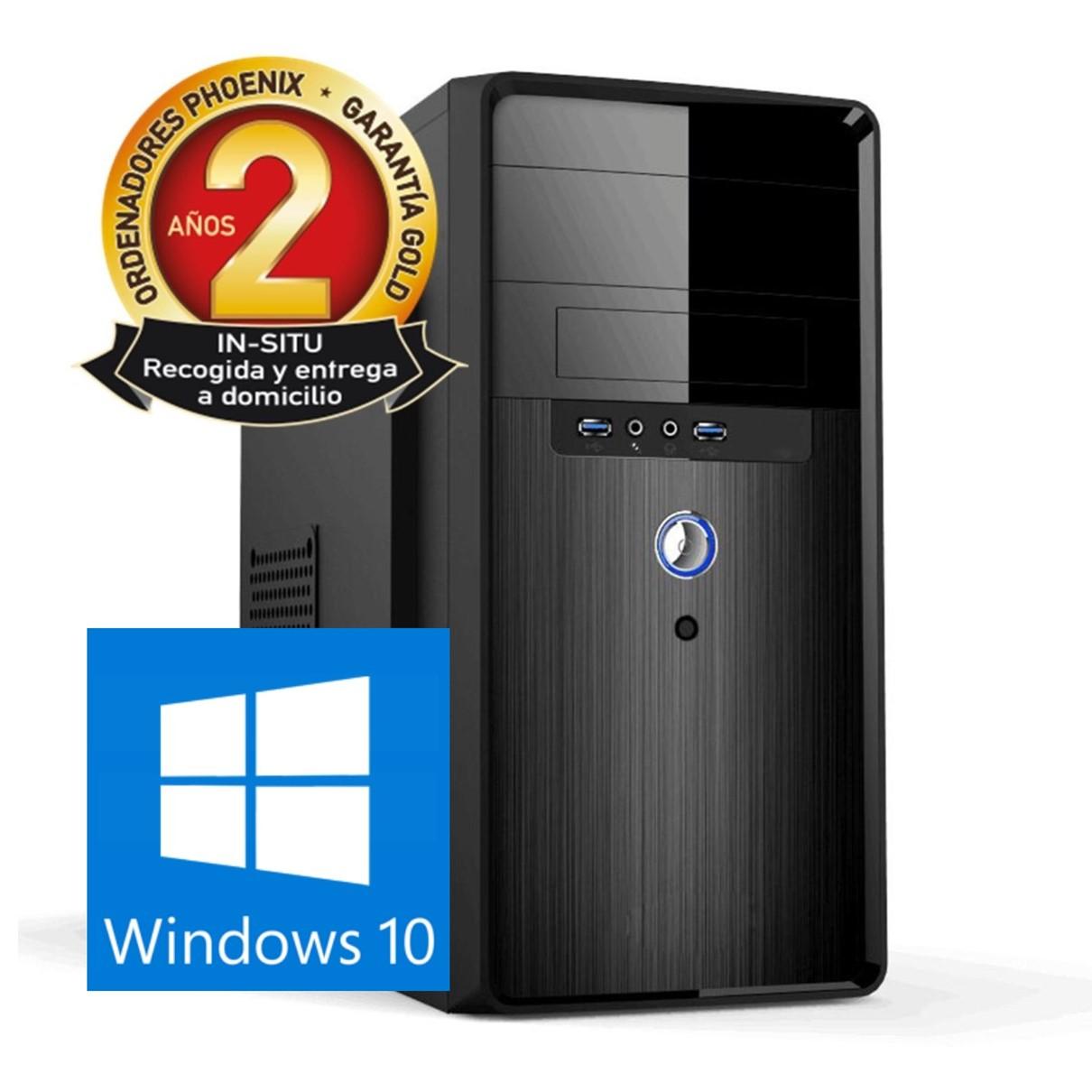 ORDENADOR PC PHOENIX TOPVALUE INTEL CORE I3 8GB DDR4 240 GB SSD MICRO ATX WINDOWS 10