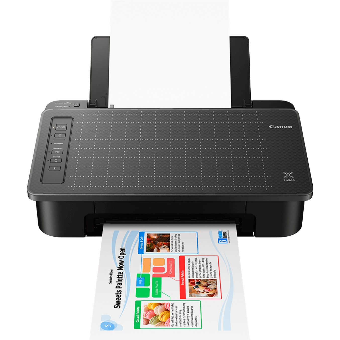 IMPRESORA CANON TS305 INYECCION COLOR PIXMA A4- 7 7PPM- 4800X1200PPP- WIFI- USB- BLUETOOTh