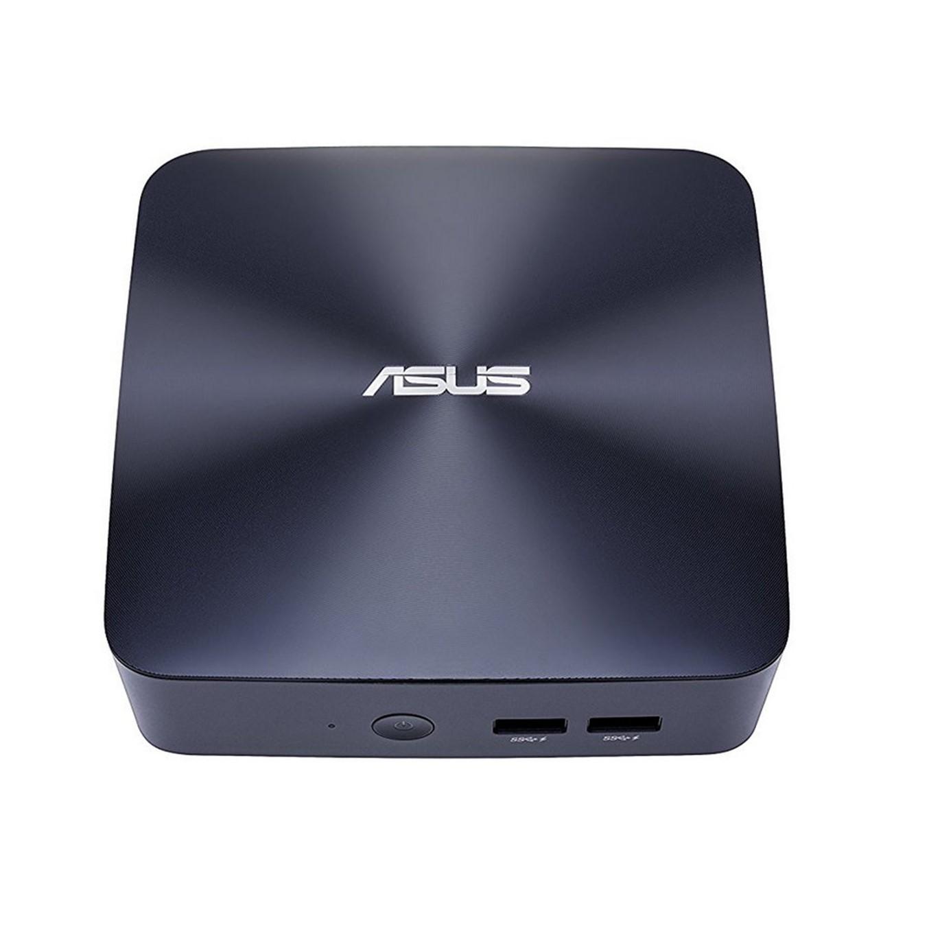 ASUS VivoMini UN65U - miniordenador - Core i3 7100U 2.4 GHz - 0 GB - 0 GB