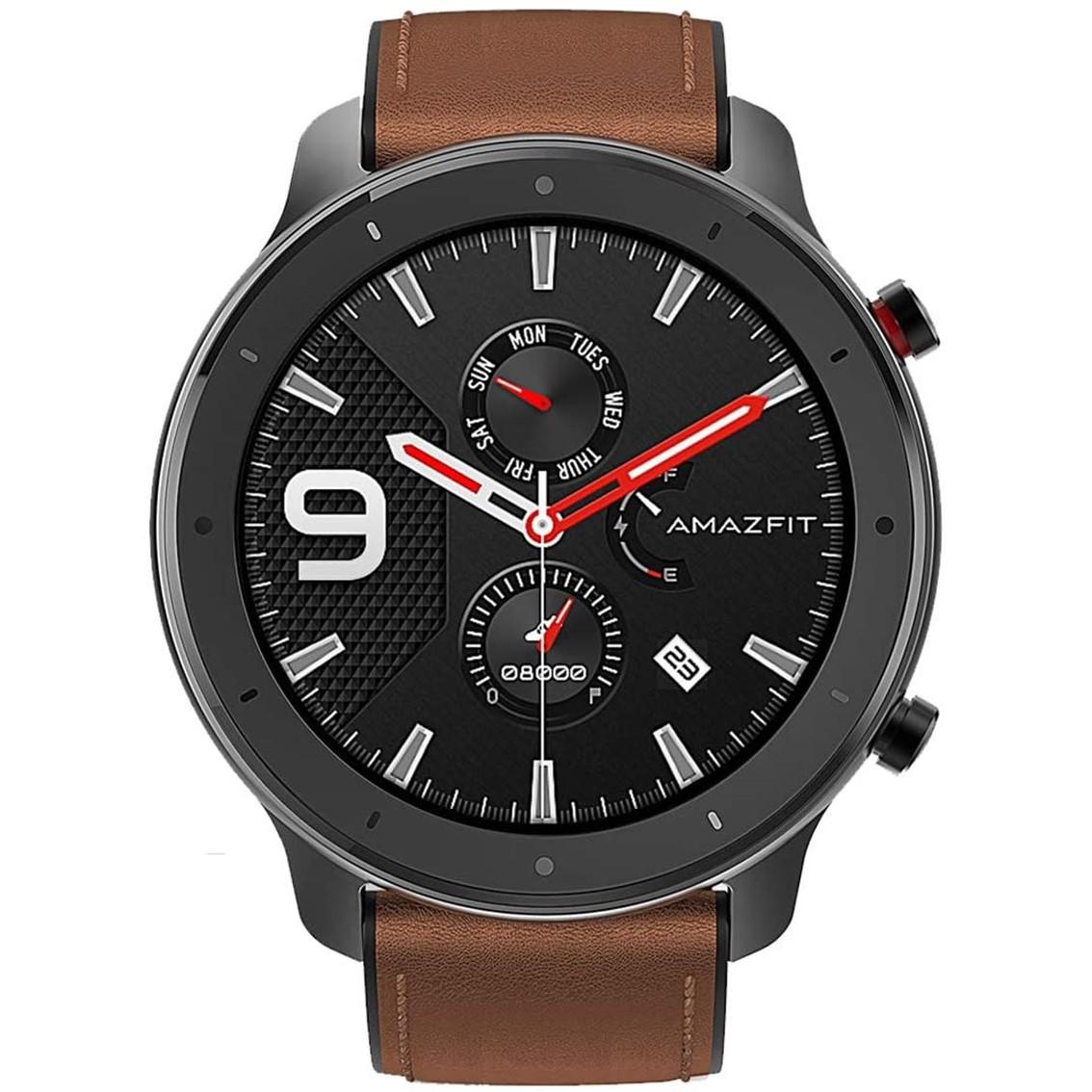 Pulsera reloj deportiva xiaomi amazfit gtr - 47mm gris oscuro -  smartwatch 1.39pulgadas -  bluetooth