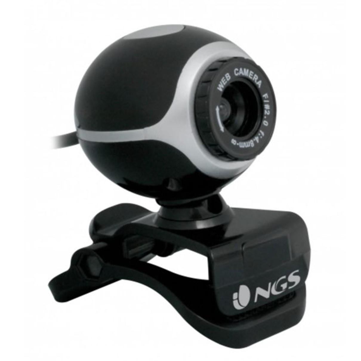 WEBCAM NGS XPRESS CAM 300 MICROFONO INCORPORADO 5MPX NEGRO