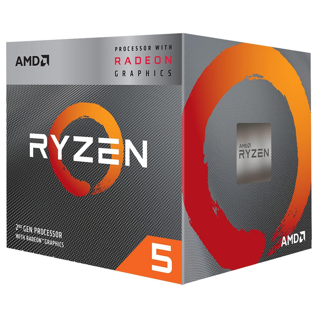 MICRO. PROCESADOR AMD RYZEN 5 3400G 3.7GHZ 4MB AM4